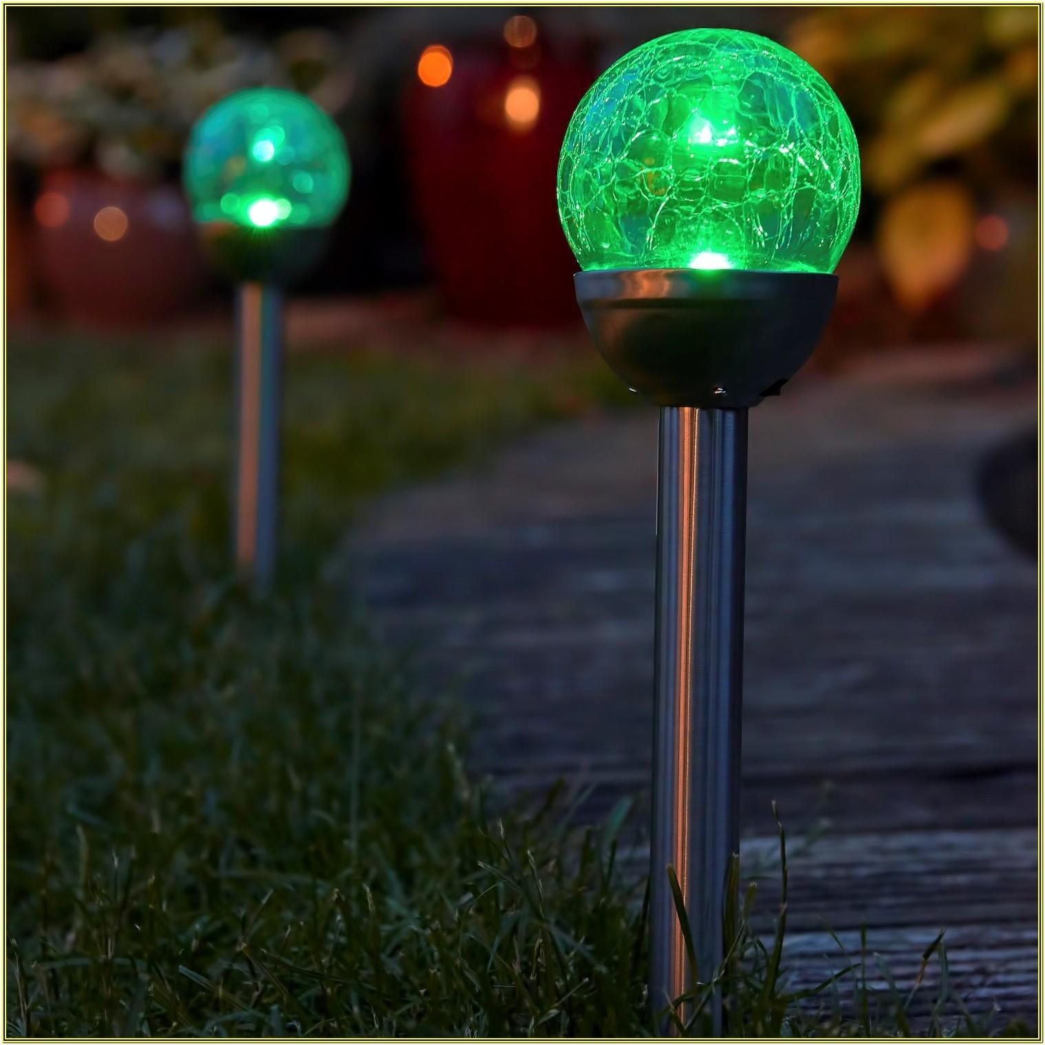 Colour Changing Garden Led Lights