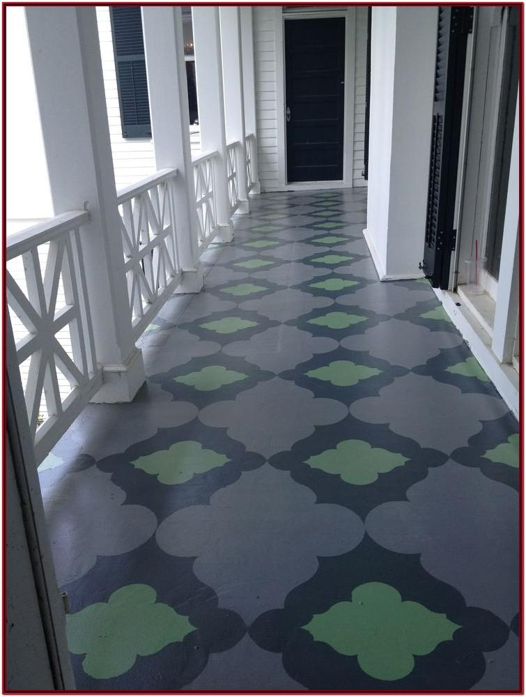 Concrete Front Porch Paint Ideas