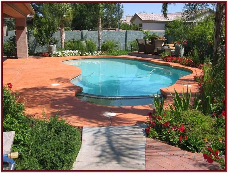 Concrete Paint Colors For Pool Decks