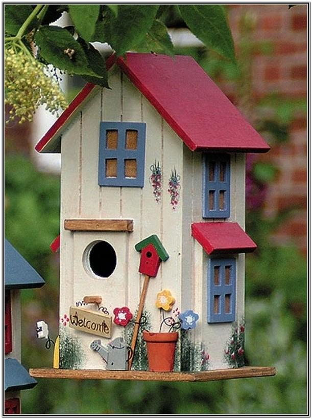 Cool Birdhouse Painting Ideas