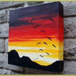 Cool Canvas Painting Ideas For Beginners
