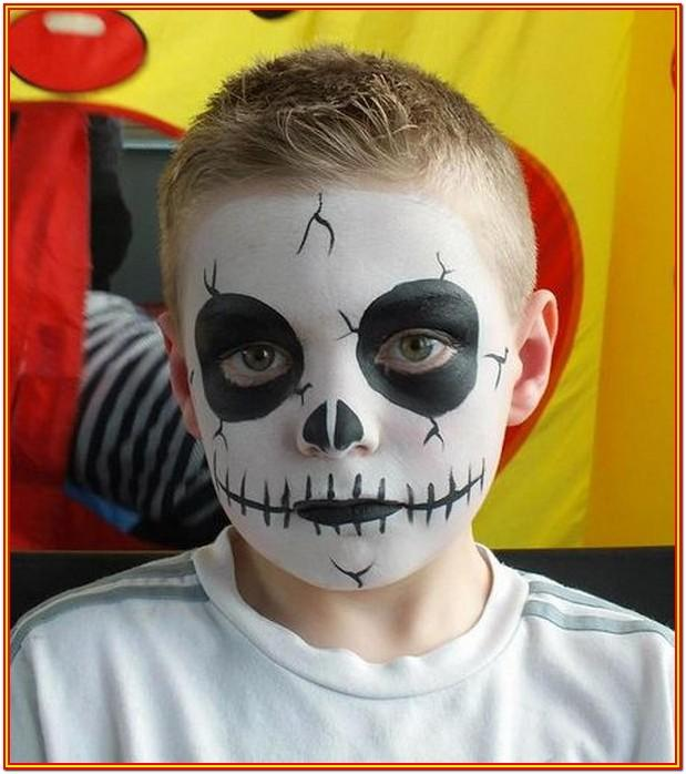 Cool Easy Face Painting Ideas For Halloween