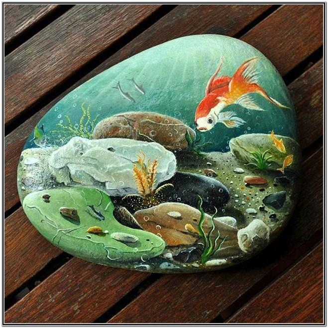 cool easy rock painting ideas