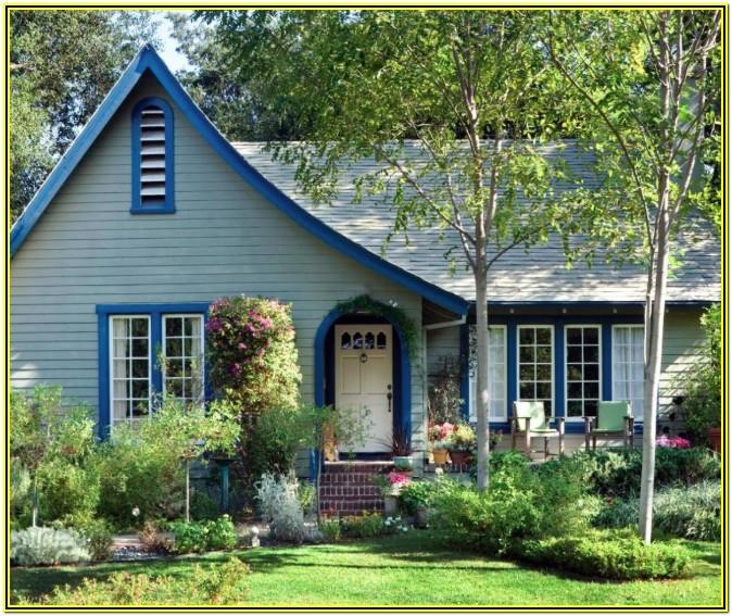 Cottage Color Schemes Exterior