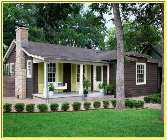 Country Cottage Exterior House Colors
