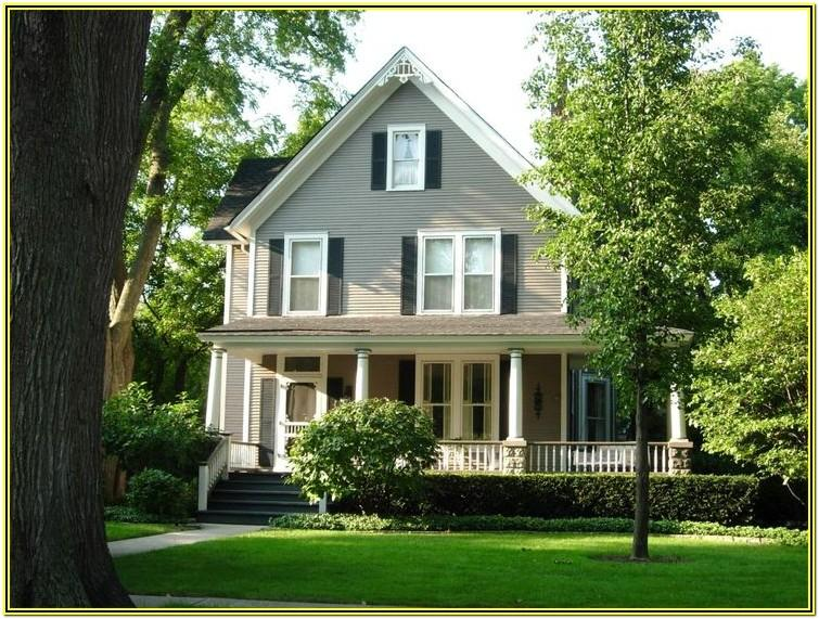 Country House Exterior Color Schemes