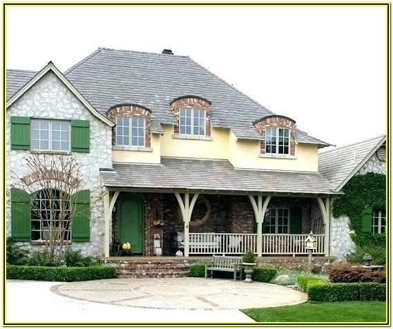 Country House Exterior Colours