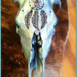 Cow Skull Painting Ideas