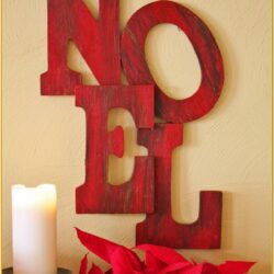 Craft Ideas Painting Wooden Letters