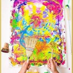 Craft Painting Ideas For Toddlers
