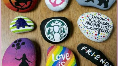 Cute And Easy Rock Painting Ideas