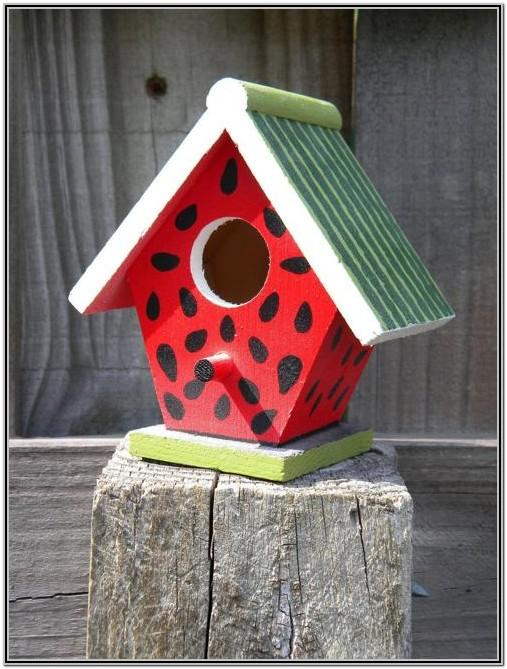 Cute Birdhouse Painting Ideas