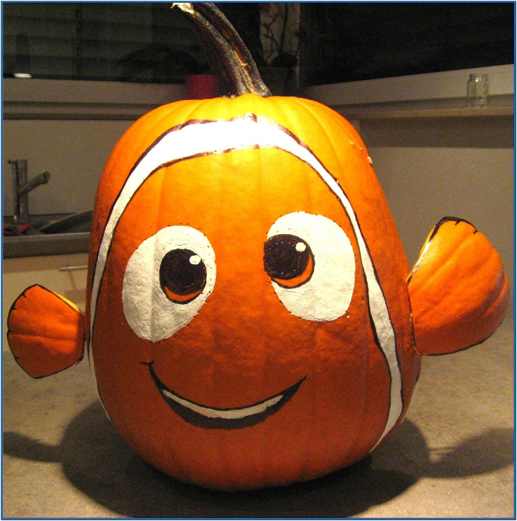 Cute Decorated Pumpkin Ideas
