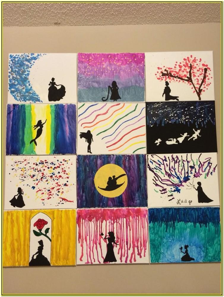 Cute Disney Painting Ideas