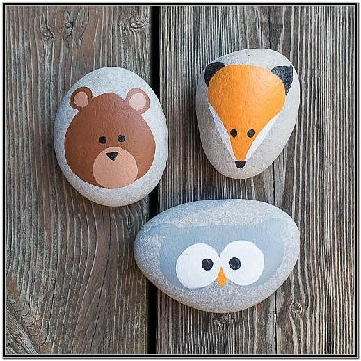 Cute Easy Rock Painting Ideas