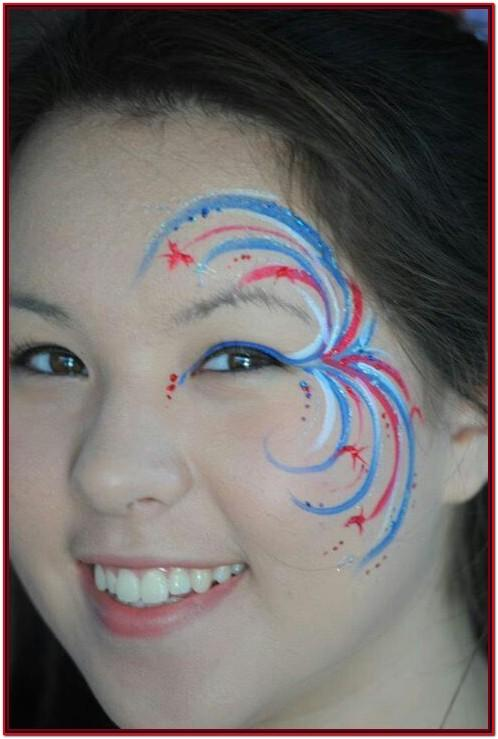 Cute Football Face Paint Ideas