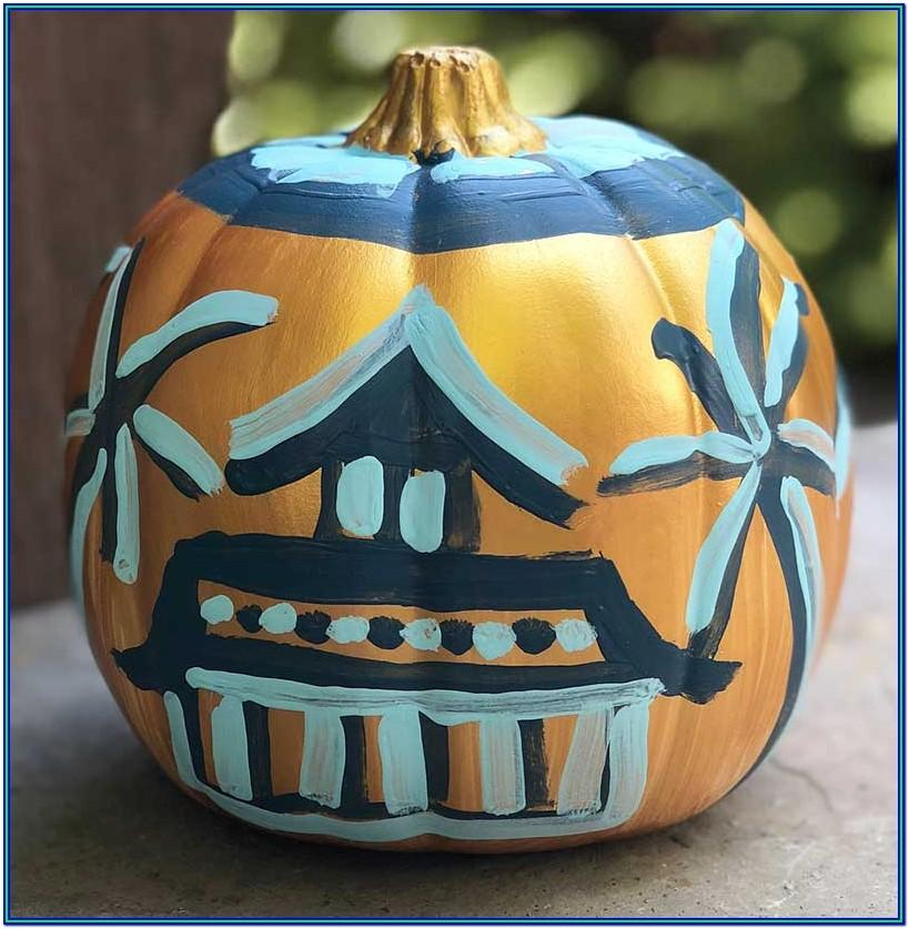 Cute Pumpkin Painting Ideas 2019