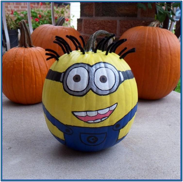 Cute Pumpkin Painting Ideas Pinterest