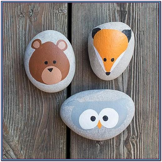 Cute Rock Painting Ideas Easy