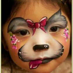 Cute Small Face Paint Ideas