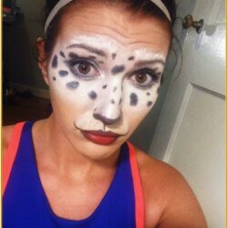 Dalmatian Face Paint Ideas For Adults