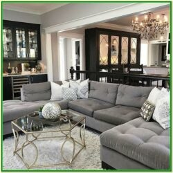 Dark Grey Couch Living Room Decor