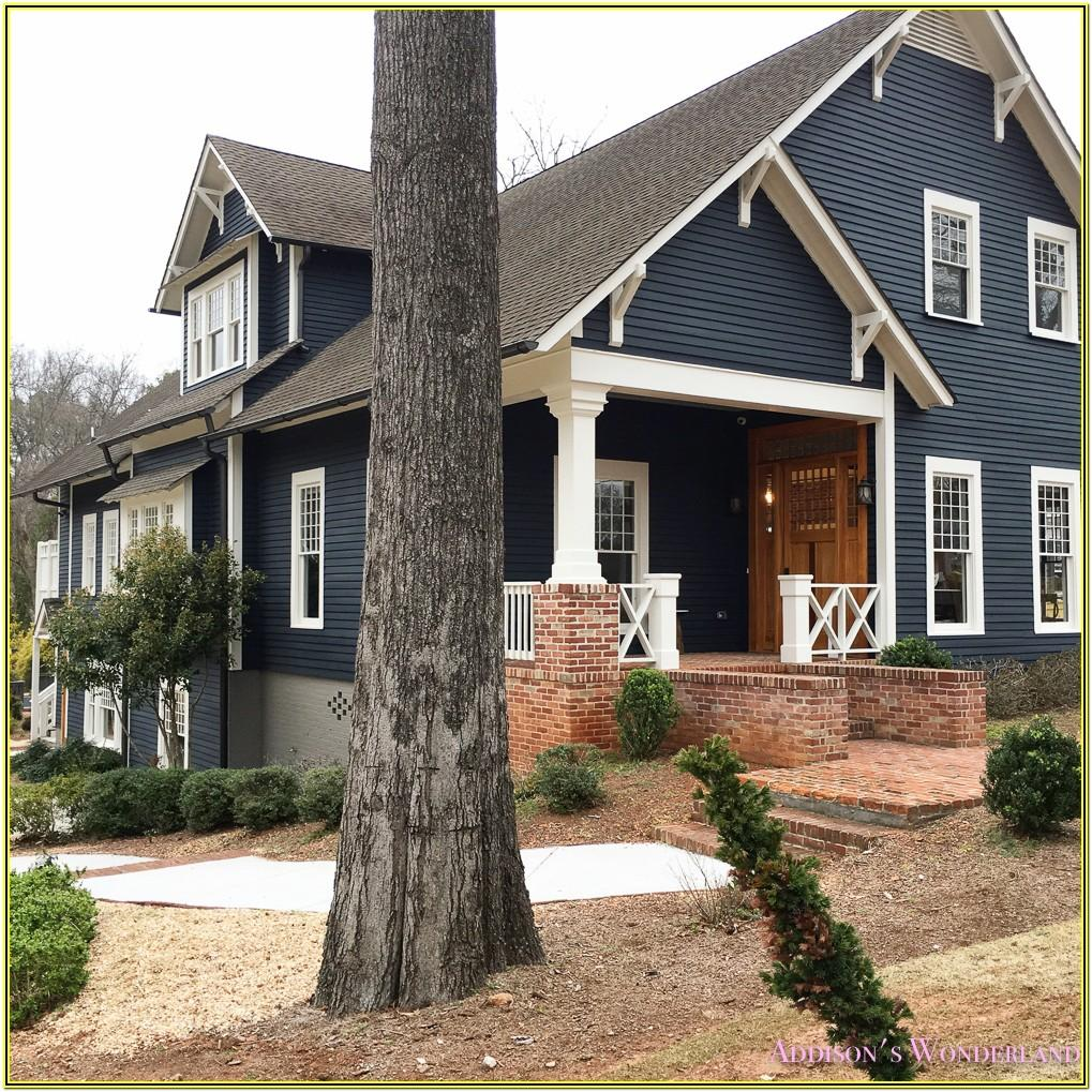 dark grey exterior house paint colors
