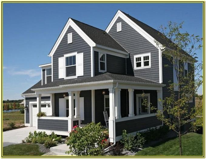 Dark Grey Exterior Paint Colours