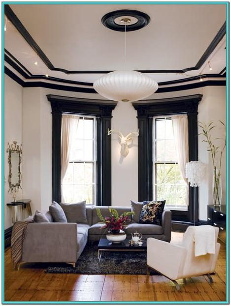 Dark Painted Trim Ideas