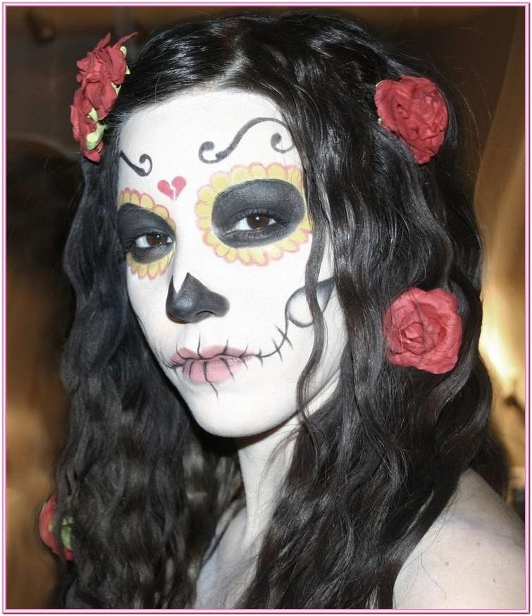 Day Of The Dead Face Paint Ideas