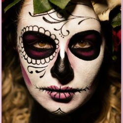 Day Of The Dead Face Painting Ideas