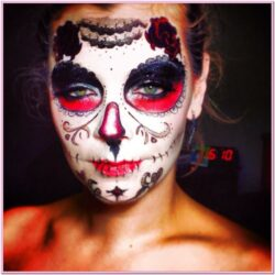 Day Of The Dead Festival Face Paint Ideas