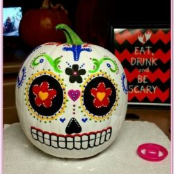 Day Of The Dead Pumpkin Painting Ideas