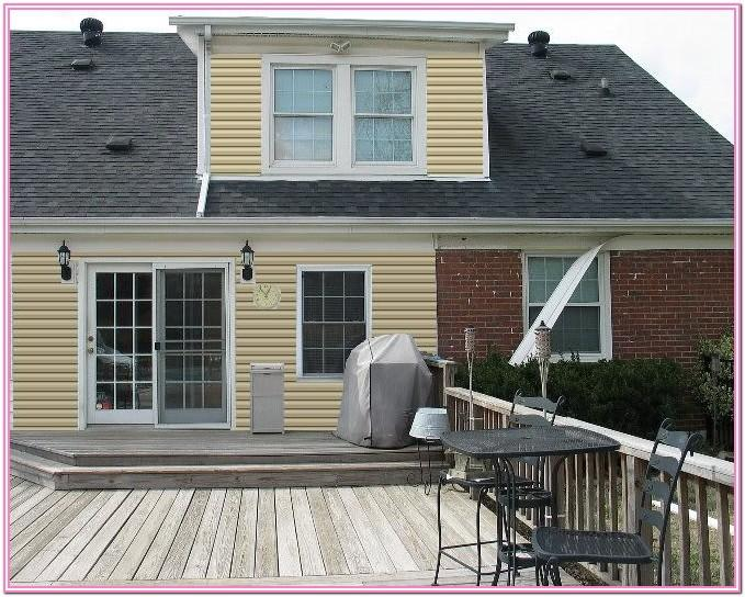 Deck Paint Color Ideas For Yellow House