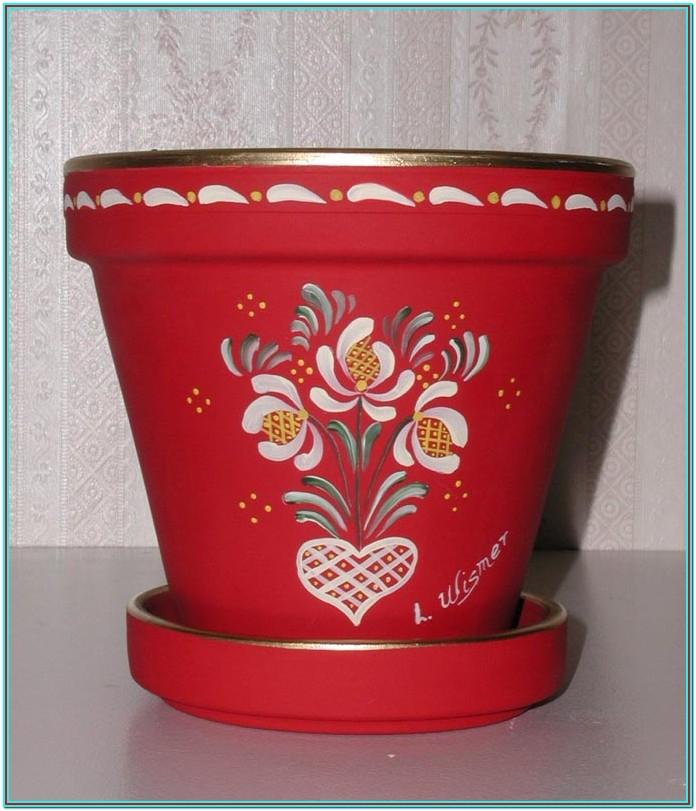 Design Ideas For Painting Clay Pots