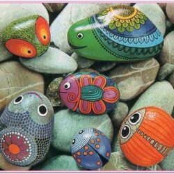 Design Ideas For Painting Rocks