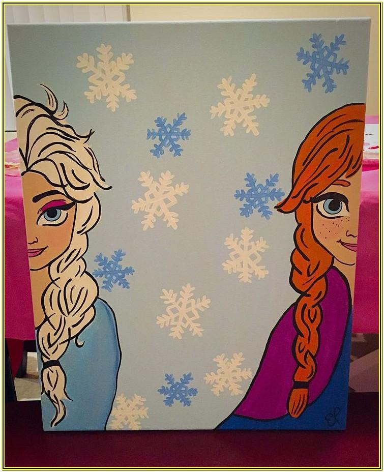 Disney Canvas Painting Ideas