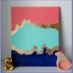 Diy Canvas Acrylic Painting Ideas