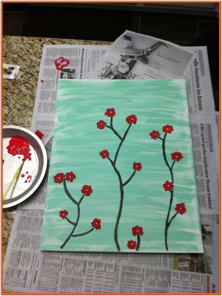 Diy Canvas Painting Ideas
