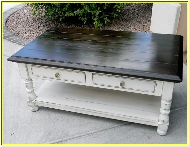 Diy Chalk Paint Coffee Table Ideas