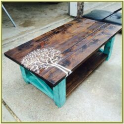 Diy Painted Coffee Table Ideas