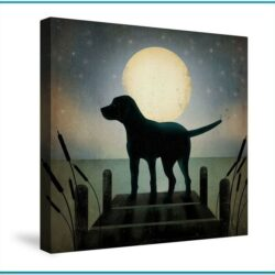 Dog Canvas Painting Ideas