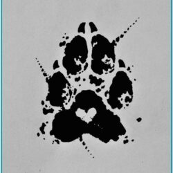 Dog Paw Painting Ideas