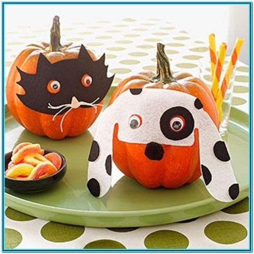 Dog Pumpkin Painting Ideas
