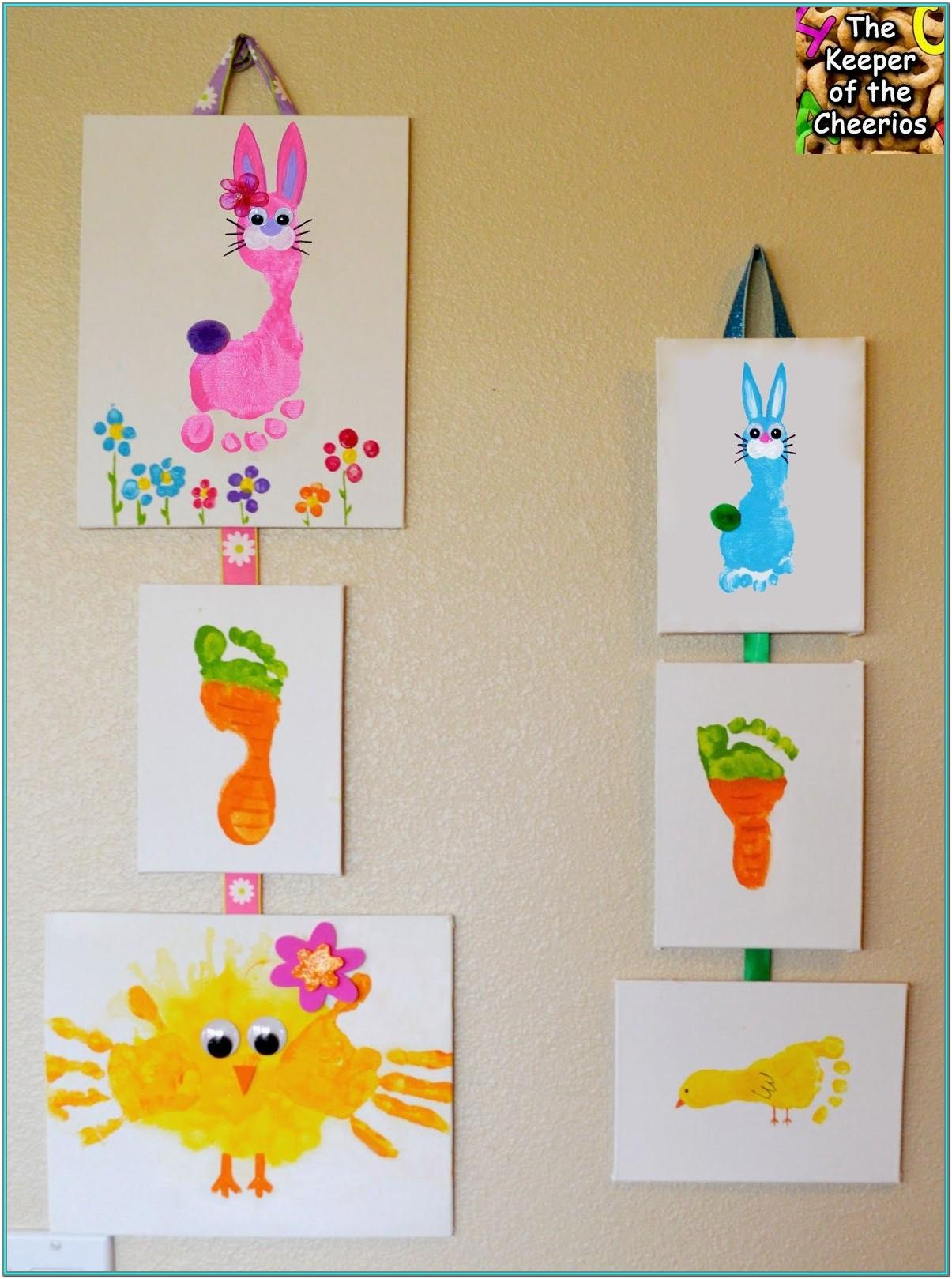 easter painting ideas for babies