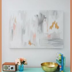 Easy Abstract Canvas Painting Ideas
