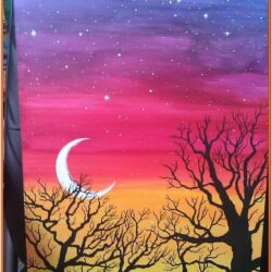 Easy Abstract Canvas Painting Ideas For Beginners