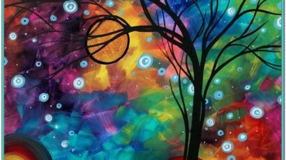 Easy Abstract Painting Ideas Pinterest