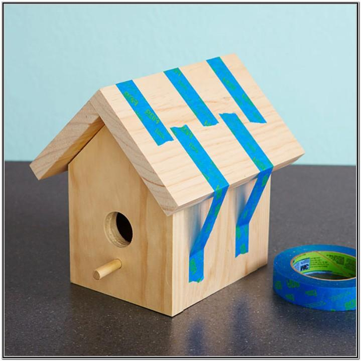 Easy Birdhouse Painting Ideas
