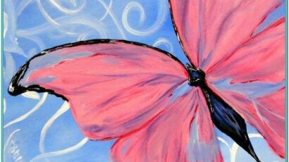 Easy Butterfly Painting Ideas